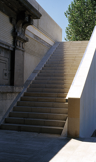 Escalier Debilly - Paris